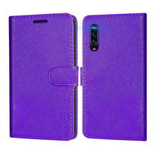 Load image into Gallery viewer, Samsung Galaxy A90 5G Wallet Case - RFID Blocking Leather Folio Phone Pouch - CarryALL Series