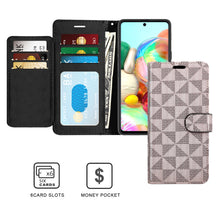 Load image into Gallery viewer, Samsung Galaxy A71 5G Wallet Case - RFID Blocking Leather Folio Phone Pouch - CarryALL Series