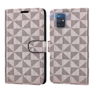 Samsung Galaxy A71 5G Wallet Case - RFID Blocking Leather Folio Phone Pouch - CarryALL Series