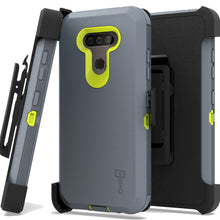 Load image into Gallery viewer, LG Harmony 4 / Premier Pro Plus / Xpression Plus 3 Holster Case - Heavy Duty Shockproof Case with Belt Clip