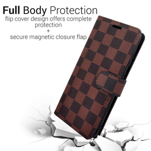 Samsung Galaxy S20 Ultra Wallet Case - RFID Blocking Leather Folio Phone Pouch - CarryALL Series