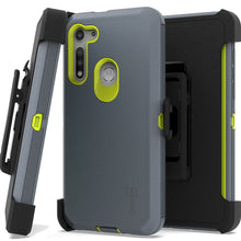 Load image into Gallery viewer, Motorola Moto G Fast Holster Case - Heavy Duty Shockproof Case with Belt Clip