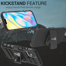Load image into Gallery viewer, Apple iPhone 12 Pro Max Holster Case - Hybrid Case with Belt Clip - Explorer Series