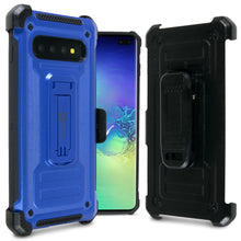 Load image into Gallery viewer, Samsung Galaxy S10 Plus Holster Case Spectra Series Protective Kickstand Phone Cover with Rotating Belt Clip