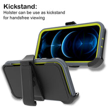Load image into Gallery viewer, Apple iPhone 12 Pro Max Holster Case - Heavy Duty Shockproof Case with Belt Clip