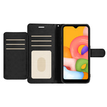 Load image into Gallery viewer, Samsung Galaxy A01 (US Version) Wallet Case - RFID Blocking Leather Folio Phone Pouch - CarryALL Series