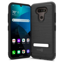 Load image into Gallery viewer, LG Harmony 4 / Premier Pro Plus / Xpression Plus 3 Case - Metal Kickstand Hybrid Phone Cover - SleekStand Series