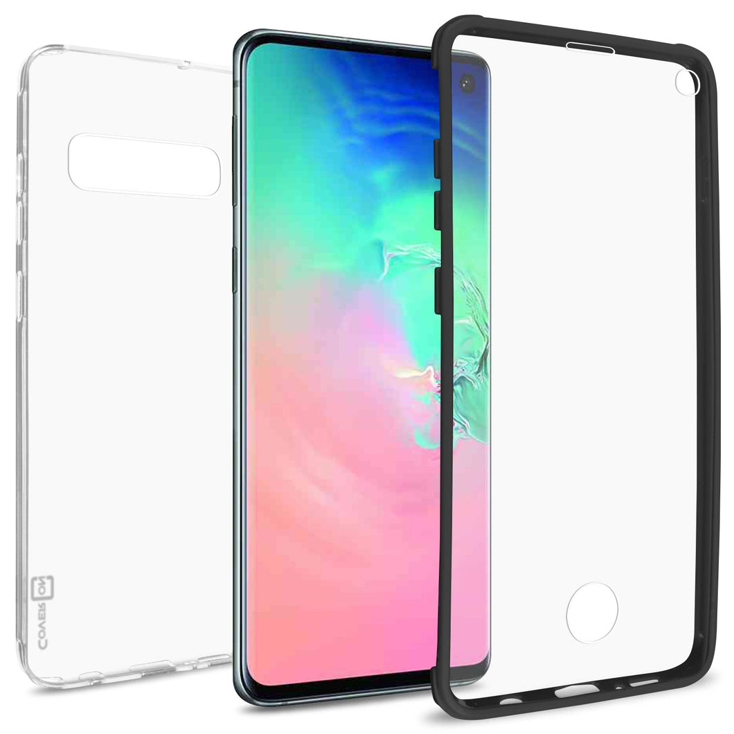 Samsung Galaxy S10 Case with Built-In Screen Protector – Slim Fit Full Body Phone Cover