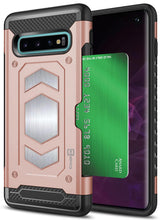 Load image into Gallery viewer, Samsung Galaxy S10 Card Case with Metal Plate - Metal Series