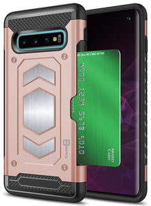 Samsung Galaxy S10 Card Case with Metal Plate - Metal Series