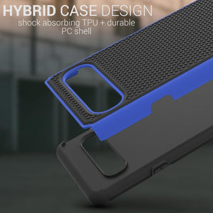Samsung Galaxy S10 5G Case - Heavy Duty Protective Hybrid Phone Cover - HexaGuard Series