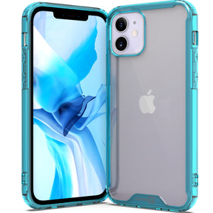 Apple iPhone 12 Pro / iPhone 12 Clear Case Hard Slim Protective Phone Cover - Pure View Series