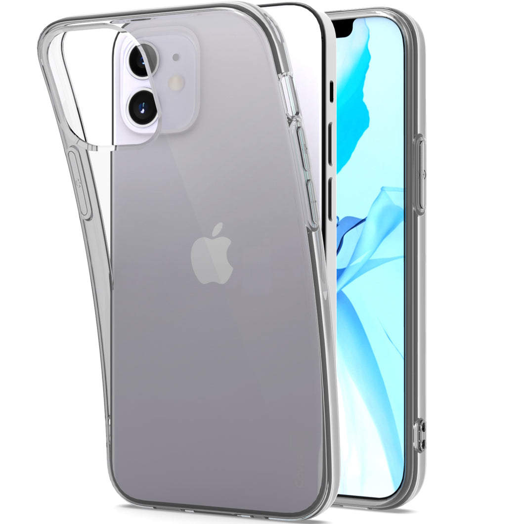 Apple iPhone 12 Pro / iPhone 12 Max Case - Slim TPU Silicone Phone Cover - FlexGuard Series