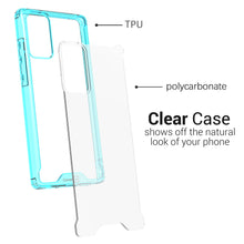 Load image into Gallery viewer, Samsung Galaxy Note 20 Clear Case Hard Slim Protective Phone Cover - Pure View Series