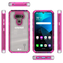 Load image into Gallery viewer, LG Harmony 4 / Premier Pro Plus / Xpression Plus 3 Clear Case - Full Body Tough Military Grade Shockproof Phone Cover