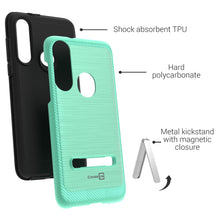 Load image into Gallery viewer, Motorola Moto G Fast Case - Metal Kickstand Hybrid Phone Cover - SleekStand Series