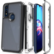 Load image into Gallery viewer, Motorola Moto E (2020) Clear Case - Full Body Tough Military Grade Shockproof Phone Cover