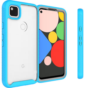 Google Pixel 4a Case - Heavy Duty Shockproof Clear Phone Cover - EOS Series