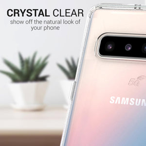Samsung Galaxy S10 5G Clear Case Hard Slim Phone Cover - ClearGuard Series