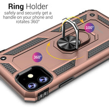Load image into Gallery viewer, iPhone 11 Case with Metal Ring Kickstand - Resistor Series
