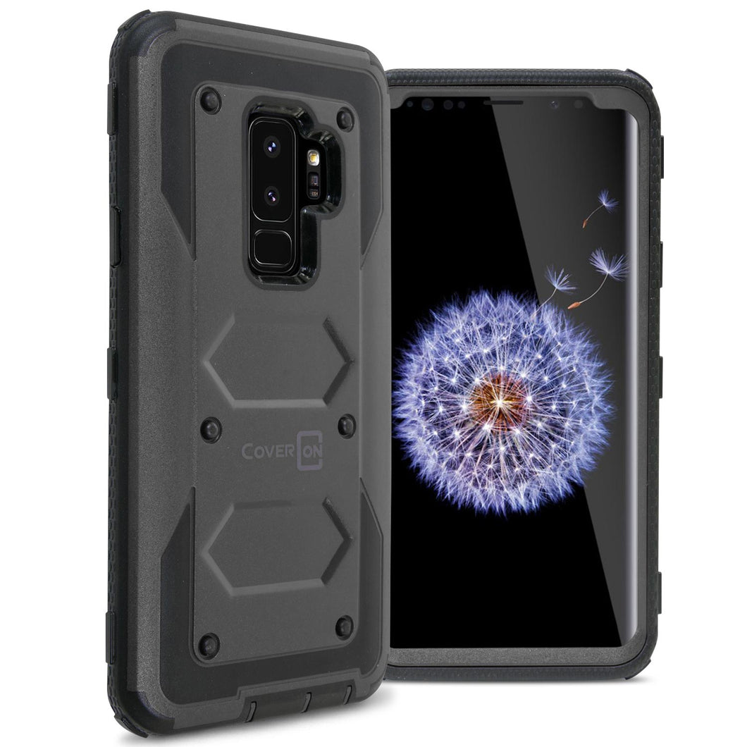 Samsung Galaxy S9 Plus Case - Heavy Duty Shockproof Phone Cover - Tank Series
