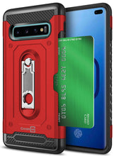 Load image into Gallery viewer, Samsung Galaxy S10 Plus Kickstand Case with Card Holder - Zipp Series