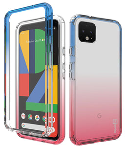 Google Pixel 4 XL Clear Case Full Body Colorful Phone Cover - Gradient Series