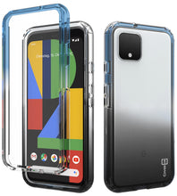 Load image into Gallery viewer, Google Pixel 4 XL Clear Case Full Body Colorful Phone Cover - Gradient Series