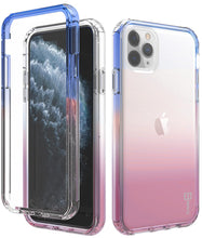Load image into Gallery viewer, iPhone 11 Pro Clear Case - Full Body Colorful Phone Cover - Gradient Series