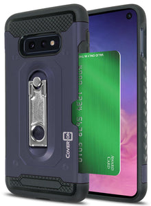 Samsung Galaxy S10e Kickstand Case with Card Holder - Zipp Series