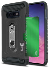 Load image into Gallery viewer, Samsung Galaxy S10e Kickstand Case with Card Holder - Zipp Series
