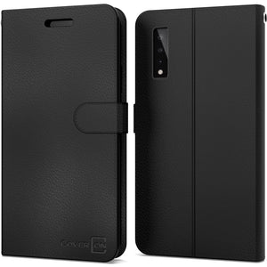 LG Stylo 7 5G Wallet Case - RFID Blocking Leather Folio Phone Pouch - CarryALL Series