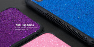 iPhone XS Max Glitter Case Protective Phone Cover - Glimmer Series