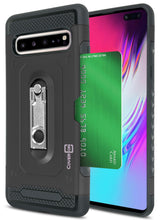 Load image into Gallery viewer, Samsung Galaxy S10 5G Kickstand Case with Card Holder - Zipp Series
