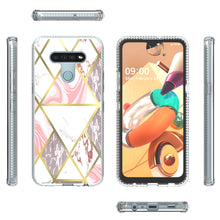 Load image into Gallery viewer, LG K51 / Reflect Design Case - Shockproof TPU Grip IMD Design Phone Cover