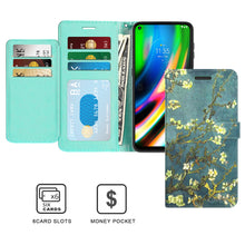 Load image into Gallery viewer, Motorola Moto G9 Plus Wallet Case - RFID Blocking Leather Folio Phone Pouch - CarryALL Series