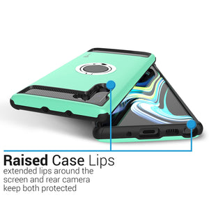 Samsung Galaxy Note 10 Case with Ring - Magnetic Mount Compatible - RingCase Series