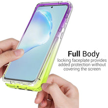 Load image into Gallery viewer, Samsung Galaxy S20 Plus Clear Case - Full Body Colorful Phone Cover - Gradient Series