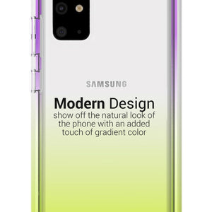 Samsung Galaxy S20 Plus Clear Case - Full Body Colorful Phone Cover - Gradient Series