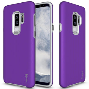 Samsung Galaxy S9 Plus Case - Slim Protective Hybrid Phone Cover - Rugged Series