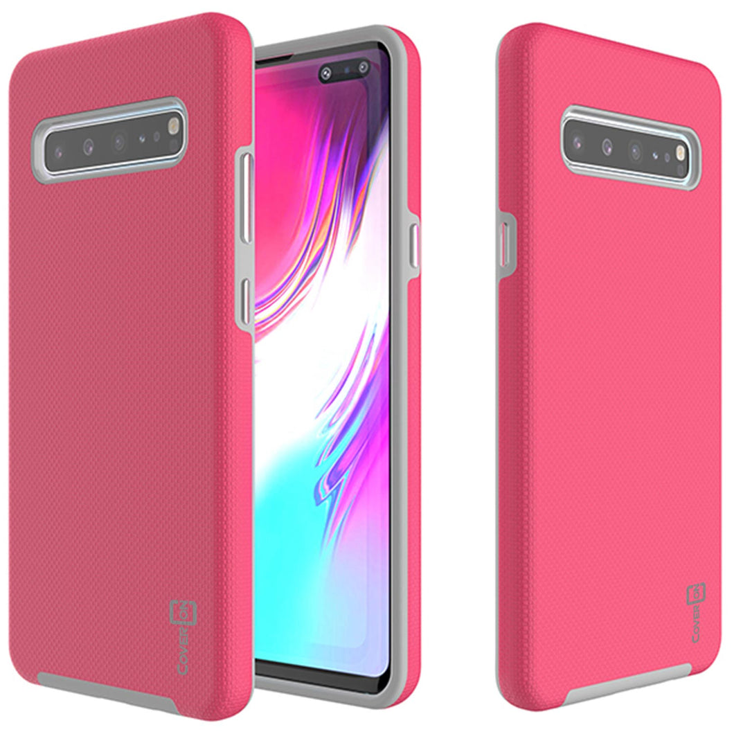 Samsung Galaxy S10 5G Case Protective Hybrid Phone Cover - Rugged Series