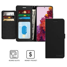 Load image into Gallery viewer, Samsung Galaxy S21 Ultra Wallet Case - RFID Blocking Leather Folio Phone Pouch - CarryALL Series