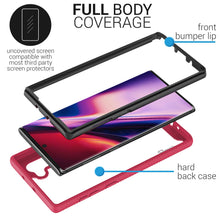 Load image into Gallery viewer, Samsung Galaxy Note 10 Case - Heavy Duty Full Body Shockproof Clear Phone Cover - EOS Series