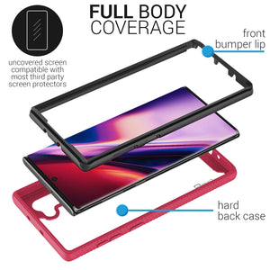 Samsung Galaxy Note 10 Case - Heavy Duty Full Body Shockproof Clear Phone Cover - EOS Series