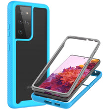 Load image into Gallery viewer, Samsung Galaxy S21 Ultra Case - Heavy Duty Shockproof Clear Phone Cover - EOS Series