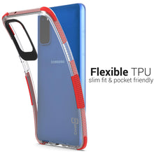 Load image into Gallery viewer, Samsung Galaxy S20 Clear Case - Protective TPU Rubber Phone Cover - Collider Series