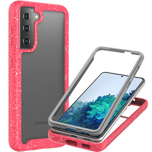 Samsung Galaxy S21 Case - Heavy Duty Shockproof Clear Phone Cover - EOS Series