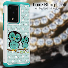 Load image into Gallery viewer, Samsung Galaxy S20 Ultra Case - Rhinestone Bling Hybrid Phone Cover - Aurora Series