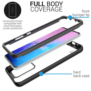 Samsung Galaxy S20 Ultra Case - Heavy Duty Shockproof Clear Phone Cover - EOS Series