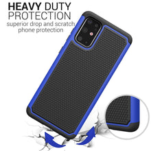Load image into Gallery viewer, Samsung Galaxy S20 Plus Case - Heavy Duty Protective Hybrid Phone Cover - HexaGuard Series